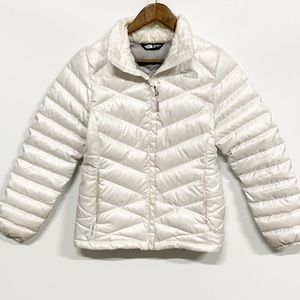 The North Face | White Goose Down Puffer Jacket S